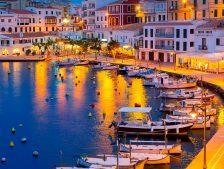 Mahón, der Hauptstadt von Menorca