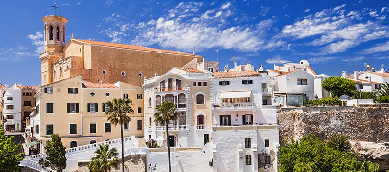 vistas de Mahón, Menorca