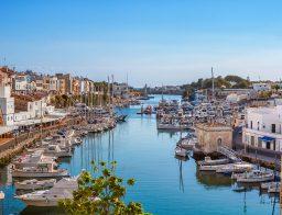 schönsten Häfen von Menorca
