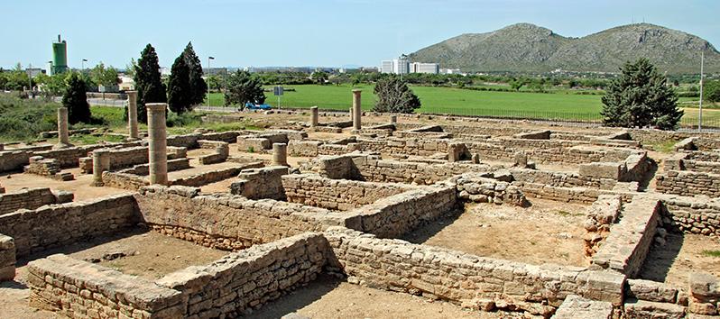 yacimiento romano de la antigua Pollentia