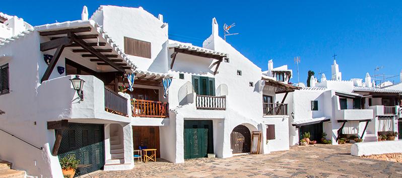 Menorca para dos_Binibeca Vell