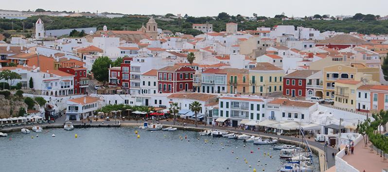 Menorca im Herbst_Hafen von Mahón