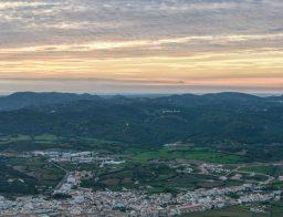 der höchste Punkt von Menorca