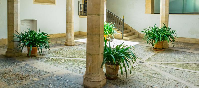 los patios de Palma de Mallorca