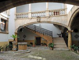 die Innenhöfe von Palma de Mallorca