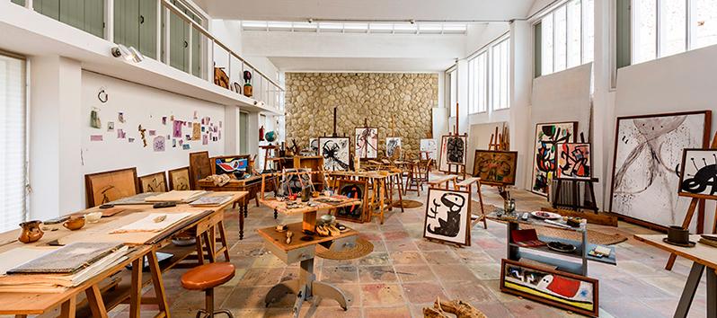 Majorca and Joan Miró_workshop Sert