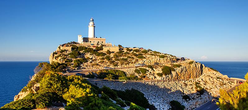 ruta en coche Mallorca_Faro de Formentor