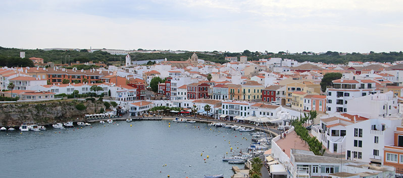 The port of Mahón_Menorca