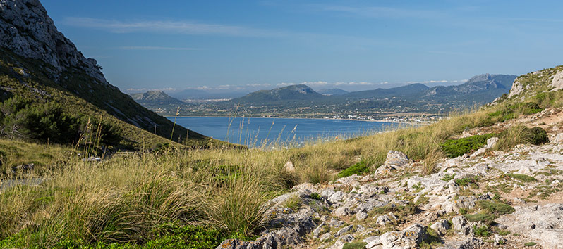 cycling routes in Alcudia